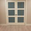 Bedroom Renovation Pocket Doors 2 Multi Generational Living Basement Suite Development Lake Country After